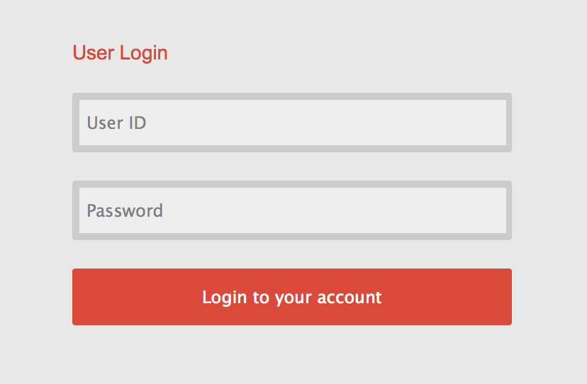 Login UI Component Example